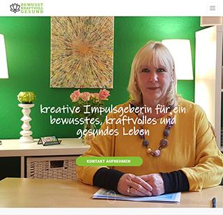 Marion Mietke - Webseite Bewusst, Kraftvoll, Gesund