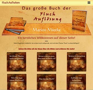 Marion Mietke - Webseite Fluch aufheben